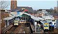 J5081 : Bangor station by Albert Bridge