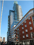 TQ3279 : Empire Square Tower, Long Lane, Southwark by Stephen Craven