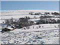 NY8448 : Snowy East Allen Dale at the Corn Mill near Spartylea by Mike Quinn