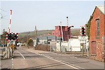 SS9902 : Level crossing at Hele by Rod Allday