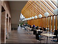 NS5562 : Restaurant, Burrell Collection, Pollok Park by David McMumm