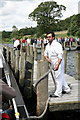 SD3195 : Brantwood Jetty on Coniston Water by Rob Noble