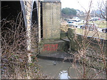 SE1537 : Graffiti by Bradford Beck at Shipley by Stephen Armstrong