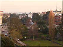 SZ0891 : Bournemouth: view over The Square to the sea by Chris Downer