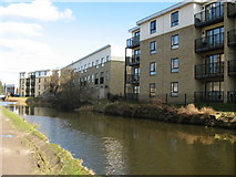 SE1537 : Amber Wharf , Shipley by Stephen Armstrong