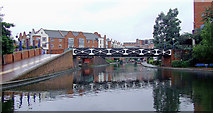 SP0586 : Birmingham Canal at Old Turn Junction, Birmingham by Roger  Kidd