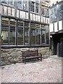 NZ2563 : External courtyard behind Bessie Surtees' House by Christine Johnstone