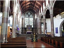 NZ2364 : Interior of St Matthew's, Big Lamp, Newcastle by Christine Johnstone