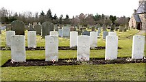 NT9130 : Commonwealth War Graves, St Gregory's Church, Kirknewton by Andrew Curtis