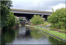 SP0990 : Birmingham and Fazeley Canal near Salford Junction, Birmingham by Roger  Kidd