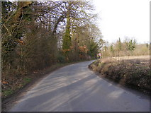 TM3569 : Wash Lane, Sibton by Geographer
