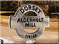 SU1114 : Alderholt: detail of Alderholt Mill finger-post by Chris Downer