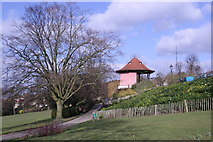 TQ3473 : The Bandstand, Horniman Museum Gardens. by Chris Denny