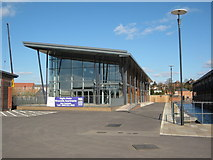 SO8453 : Diglis Water apartments, Worcester by Philip Halling