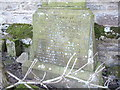 NZ1114 : Inscribed headstone of the Venerable John Headlam, MA by Stanley Howe