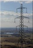 SD9617 : Pylon on Blackstone Edge by michael ely