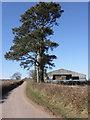 SS7309 : Barn, near Little Hole Farm by Roger Cornfoot