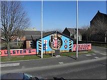 J3574 : Murals, East Belfast (1) by Kenneth  Allen