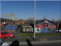 J3574 : Murals, East Belfast (4) by Kenneth  Allen
