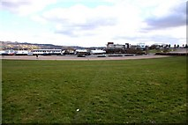 SO9524 : Cheltenham Racecourse by Steve Daniels