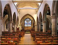 TQ1289 : St John the Baptist, Church Lane, Pinner - East end by John Salmon