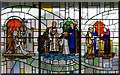 TQ1886 : St Augustine, Wembley Park - Window by John Salmon