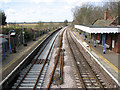 TG4102 : A new track through Reedham station by Evelyn Simak