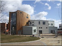SJ9400 : The new Wednesfield Library nears completion by John M