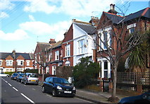 TQ2673 : Houses in Capern Road Earlsfield by Rod Allday
