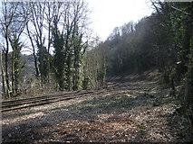 SJ6604 : Railway line to the power station by Row17