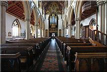 TQ1780 : Christ the Saviour, Ealing Broadway - West end by John Salmon
