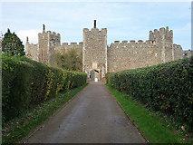 TM2863 : Framlingham Castle by Chris Gunns