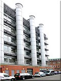 NZ2465 : Devonshire Building, Newcastle University by Andrew Curtis