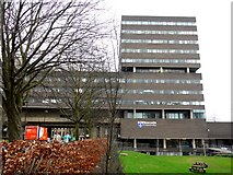NZ2465 : Claremont Tower & Bridge, Newcastle University by Andrew Curtis
