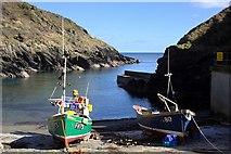 SW9339 : Boats on the Slipway by Tony Atkin