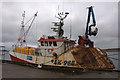 HU4642 : MV Copious in Lerwick by Mike Pennington