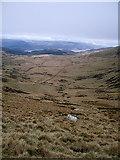 SH6422 : Wide cwm below the Diffwys ridge by Rudi Winter