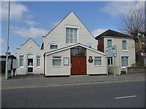 SZ1593 : Christchurch - Salvation Army Citadel by Chris Talbot