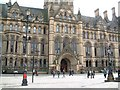 SJ8398 : Manchester Town Hall, Albert Square by David Gearing