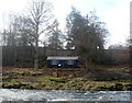 NY5341 : Anglers' facility on the Eden by Andy Waddington