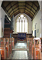 TM2787 : All Saints church in Alburgh - the chancel by Evelyn Simak