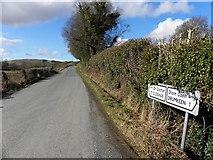 C1402 : Road near Drumkeen by Kenneth  Allen
