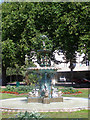 SX9163 : Fountain, Princess Gardens by David Dixon