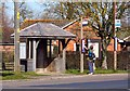 SU4090 : Bus Stop by The Green by Steve Daniels