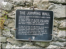 N9788 : Plaque on The Jumping Church, Kildemock by Kieran Campbell