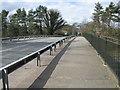 SJ6271 : Roadbridge over the A556 Chester Road by Dr Duncan Pepper