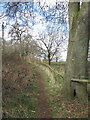 SJ6270 : Public footpath beside golf course by Dr Duncan Pepper