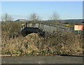 ST7947 : 2010 : Footbridge over the main rail line near Frome by Maurice Pullin