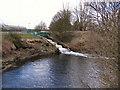 SD7604 : River Irwell, Ringley Water Treatment Plant by David Dixon