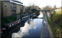 TQ2883 : Regent Canal by Andrew Wood